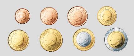 Euro Münzen Belgien
